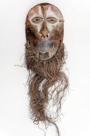 Maska, plemię ZIMBA, Kongo, Afryka