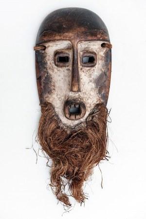 Maska, plemię LEGA, Kongo, Afryka, ok. poł. XX w.