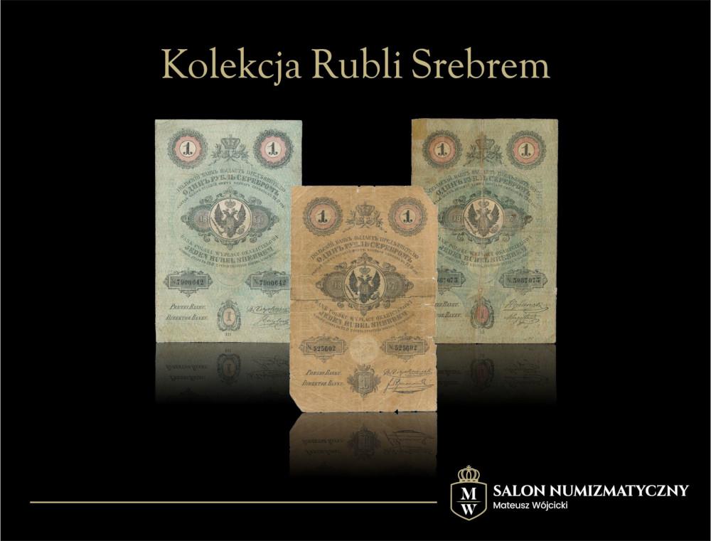 Kolekcja rubli srebrem