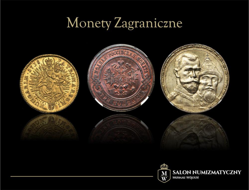 Monety i medale zagraniczne